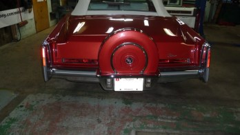 Classic Car Stereo System Installed In 1976 Cadillac Eldorado for Korean War Veteran!