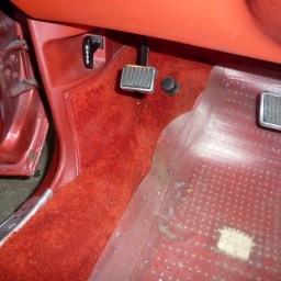 Cadillac Eldorado kick panel