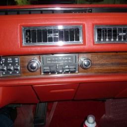 Cadillac Eldorado factory radio