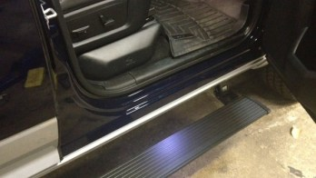 Dodge Ram PowerSteps Installed for Westminster Client