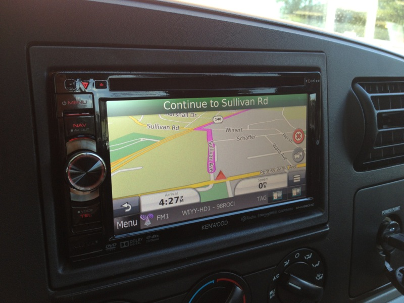 Ford F350 Navigation, Backup Camera, Audio Upgrade and Much