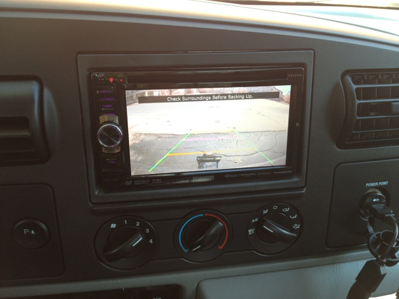 Ford F350 Navigation Backup Camera Audio Upgrade And Much Morerhwestminsterspeed: 2002 Ford F 250 Radio Upgrades At Gmaili.net