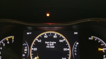 Installed Radar Detector Compliments This 2014 Jeep Grand Cherokee