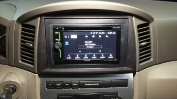 Jeep In-Dash DVD Upgrade for Jarretsville Client