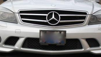 Custom Installed Radar Detector In Mercedes C63