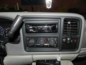2001 Suburban Audio Upgrade Adds New Technology