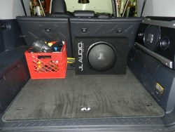 FJ Cruiser Audio Upgrade