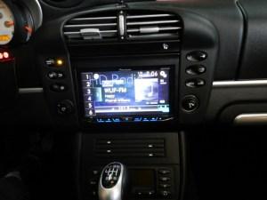 Porsche in-dash radio upgrade