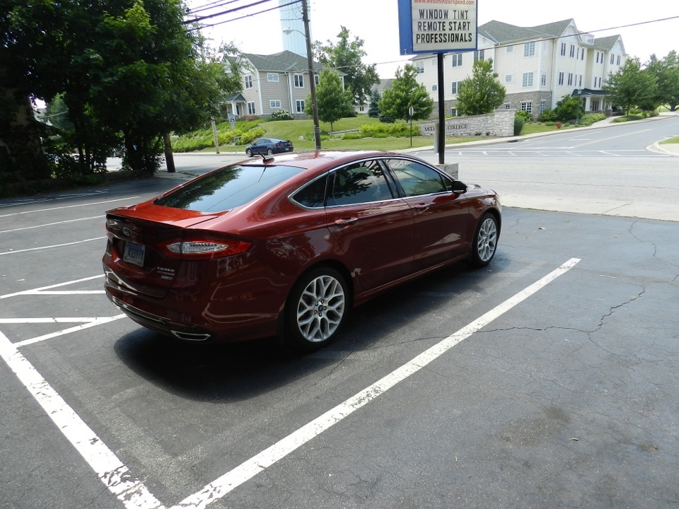 Ford Fusion Window Tint 2 Westminster Speed
