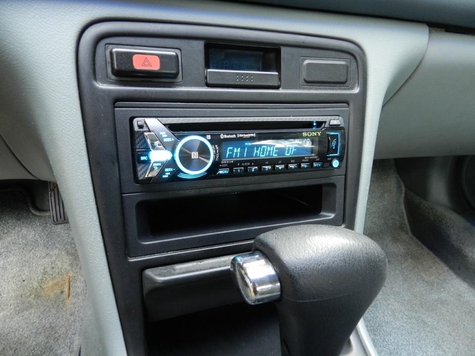 Honda Accord Radio Upgrade Replaces Cassette Deck