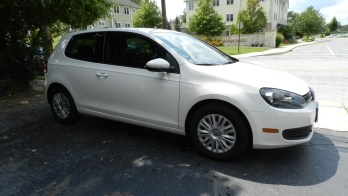 VW Golf Window Tint Installation Blocks 99% of UV Rays