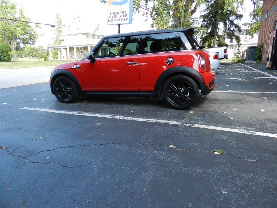 Manchester Mini Cooper S Enhanced With Window Tint