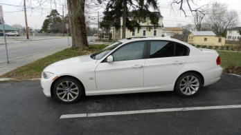 Westminster Client Gets 35% Tint On BMW 328xi