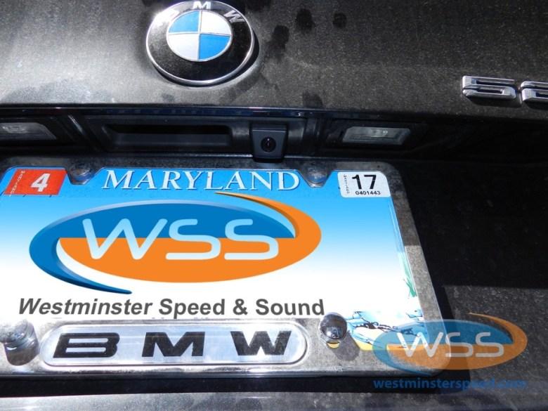BMW 528i Backup Camera Solution