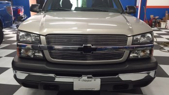 Westminster Client Upgrades Chevy Silverado Grille