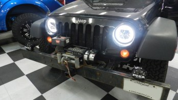Westminster Client Gets Jeep Wrangler Headlight Upgrade