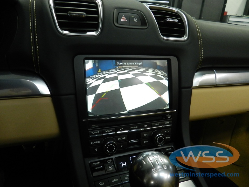 Porsche Boxster S Backup Camera And Radar Detector