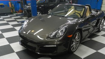 Westminster Client Gets Porsche Boxster S Backup Camera and Radar Detector