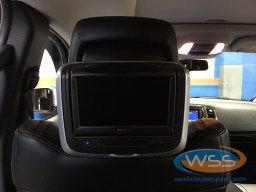 2012 Durango Custom Headrests