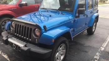 Littlestown Jeep Wrangler Integrated With Kicker Audio