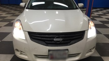 HID Lighting Replacement and Upgrade on 2010 Nissan Altima