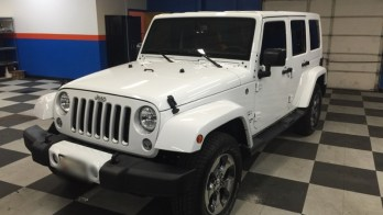 Jeep Backup Camera and Tint Added to 2016 Wrangler Unlimited