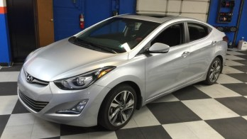 Stock Audio Bass Upgrade in 2014 Hyundai Elantra
