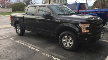 Dark Matter Window Film on New 2015 Ford F150