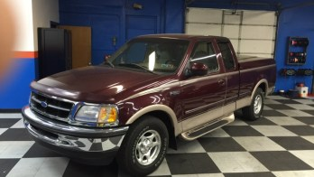 1997 Ford F-150 Gets New Radio and Backup Camera System