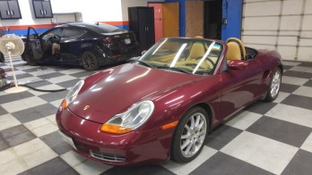 Towson Client Gets Numerous Porsche Boxster Upgrades