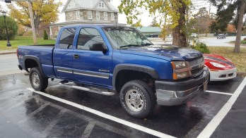 Hampstead Chevy Client Upgrades 2003 Silverado Electronics
