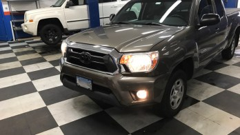 Hampstead Client Comes To WSS For Toyota Tacoma Fog Lights