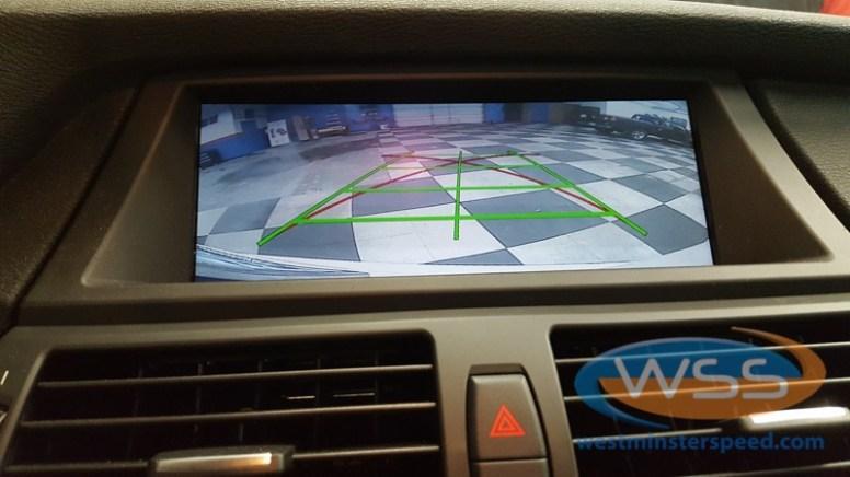 BMW X5 Backup Camera