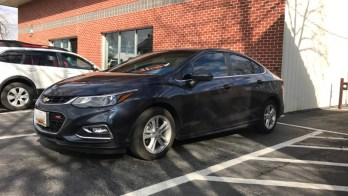 2016 Chevy Cruze Window Tint for Westminster Client