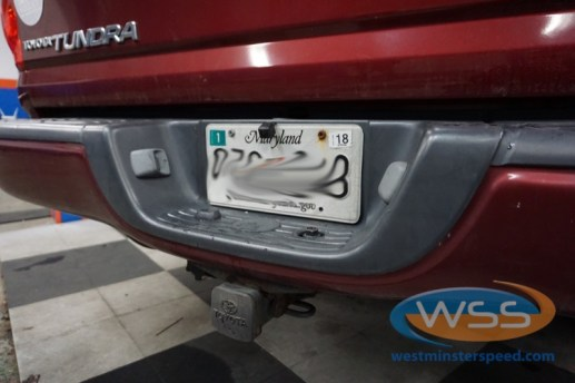 Toyota Tundra Rear Window Replacement >> Finksburg Client Gets Toyota Tundra Backup Camera and Starter