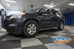 Chevy Traverse Step Bars