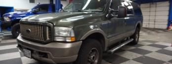 Ford Excursion Radio