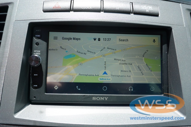 Toyota Venza Backup Camera and Radio for Hanover Client