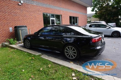 Audi A6 Window Tint