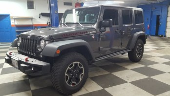 Jeep Wrangler Radio, Backup Camera & More for Forest Hill Client