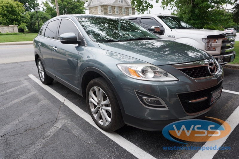 Mazda CX-9 Radio Upgrade Gives New Technology to Westminster Client