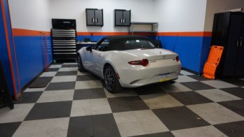 Mazda Miata Backup Camera Adds Safety for Hanover Client