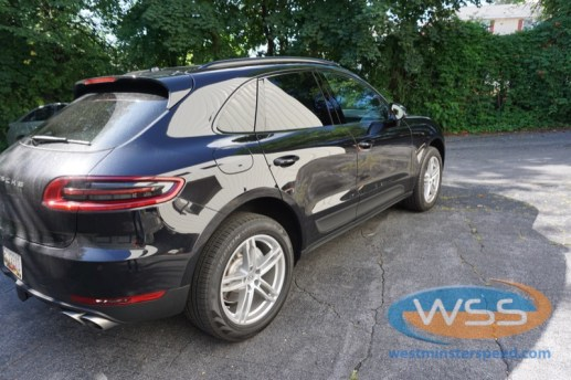 Porsche Macan Window Tint