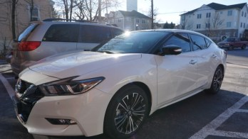 Repeat Manchester Client Gets Nissan Maxima Window Tint