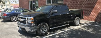 Chevy Silverado Window Tint