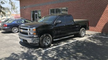 FX Premium Window Tint for Westminster Chevy Silverado Owner