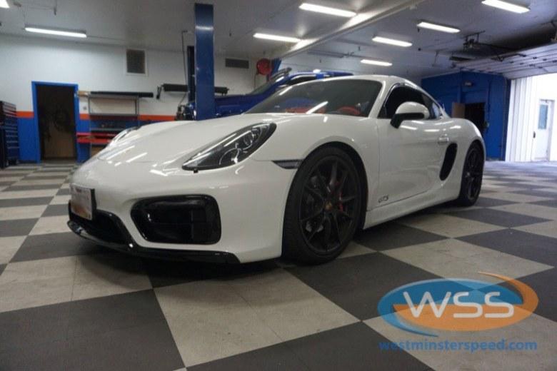 Porsche Cayman GTS Radio