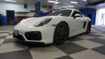 Baltimore Client Gets Porsche Cayman GTS Radio and Backup Camera
