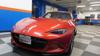 Edgewood Client Adds Rear Vision Camera to Mazda Miata