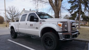 Ford F-350 Audio and Accessory Upgrades for Baltimore Client